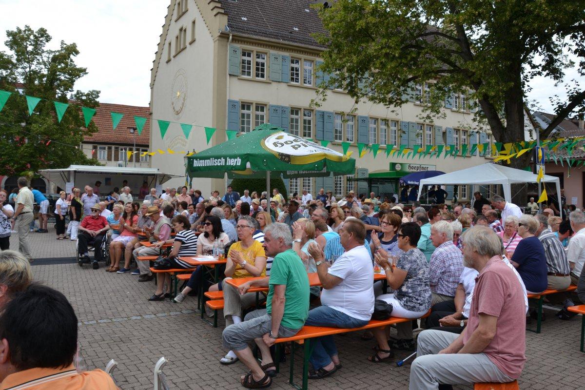 Rathausplatzfest Gondelsheim 056