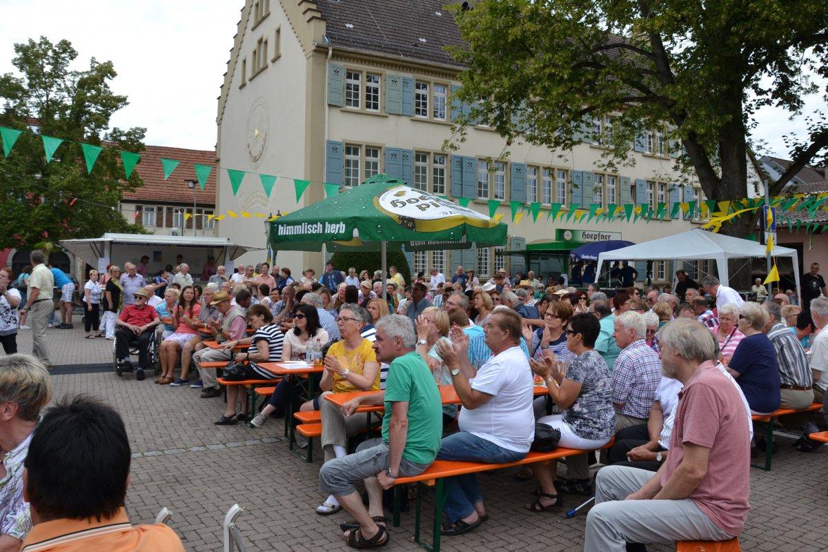 Rathausplatzfest Gondelsheim 057