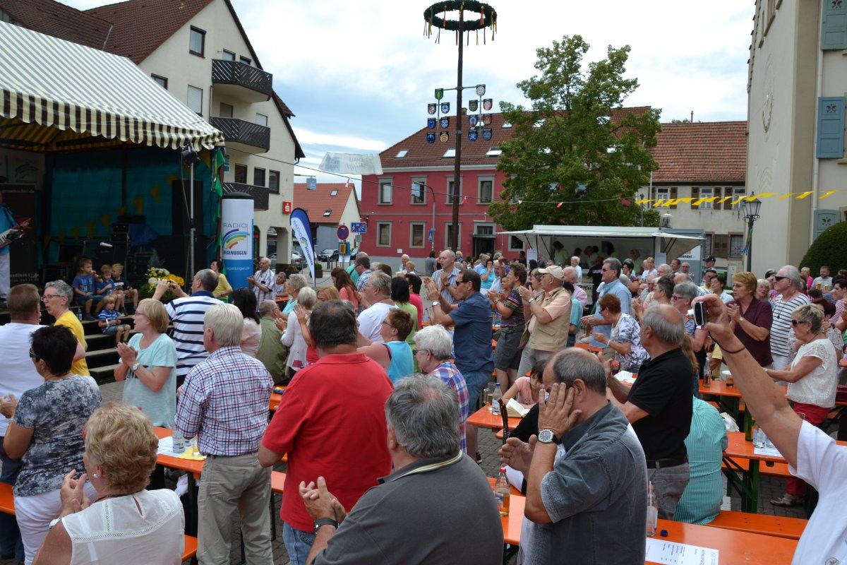 Rathausplatzfest Gondelsheim 110